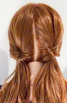 寝坊しちゃった朝でも安心◎寝ぐせがついたままの髪でもできる、まとめ髪アレンジ2
