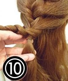 アレンジスティックを使ったワンランク上のお呼ばれヘアアレンジ10