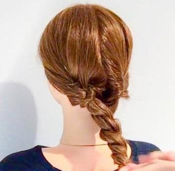 寝坊しちゃった朝でも安心◎寝ぐせがついたままの髪でもできる、まとめ髪アレンジ3