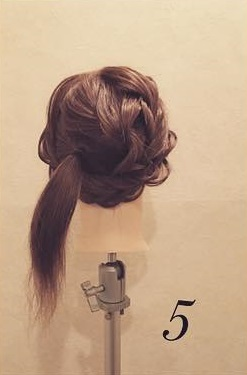 リボンは自分の髪で作るのがイイ♡ビッグリボンアレンジ5