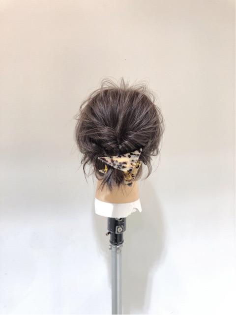 悩める、伸ばしかけ黒髪ショートさん必見!ちびローポニーアレンジ☆ top