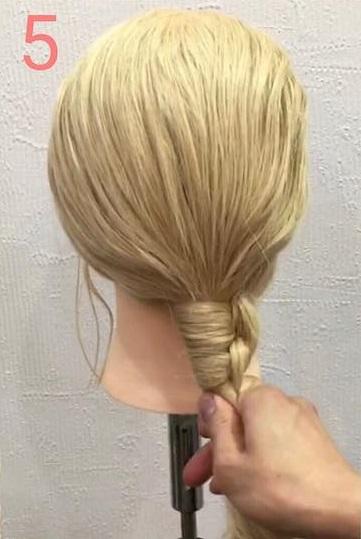 海外女子に人気のモードヘア♪ノットヘアーアレンジ5