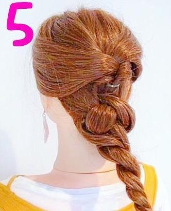 髪を巻かなくてもできるのが魅力的◎自分で出来ちゃうお呼ばれアレンジ5