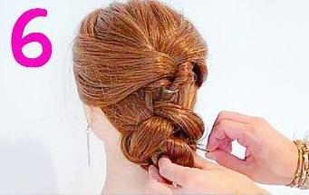 髪を巻かなくてもできるのが魅力的◎自分で出来ちゃうお呼ばれアレンジ6
