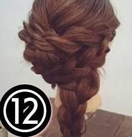 ドレスにも和装にも♪ゴージャスな後ろ姿になれるまとめ髪アレンジ12