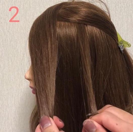 伸ばしかけ前髪の方必見◎前髪を切りたくなったときに役立つアレンジ2