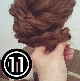 ドレスにも和装にも♪ゴージャスな後ろ姿になれるまとめ髪アレンジ11