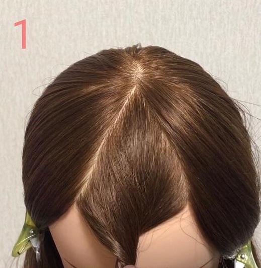 伸ばしかけ前髪の方必見◎前髪を切りたくなったときに役立つアレンジ1