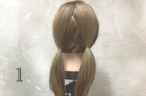 男女モテ確実の愛されヘア♡三つ編みがキュートなまとめ髪アレンジ1