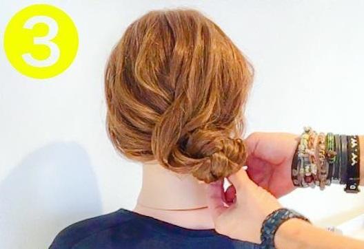シンプル×おしゃれ☆オトナ女子におすすめの、裏編みでつくるまとめ髪アレンジ3