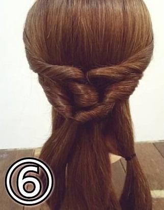 「髪の毛の量が多い…」という方におすすめ☆素敵な後ろ姿になるポニーテールアレンジ6