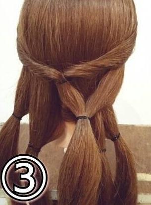 「髪の毛の量が多い…」という方におすすめ☆素敵な後ろ姿になるポニーテールアレンジ3