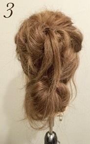 スタイリッシュさが魅力☆いつものコーデがワンランクアップする、リーゼント風まとめ髪アレンジ3