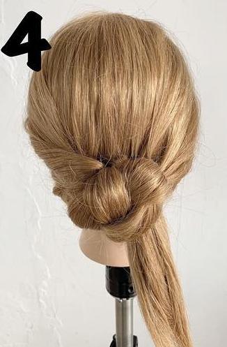 ちょっとしたお出かけに◎後れ毛がある大人ラフなヘアアレンジ4