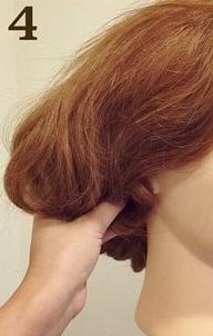 1日限定で髪を短く◎髪を切らなくてもボブになれちゃう優秀アレンジ4
