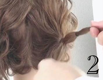 後ろからでもかわいいハートヘア!2