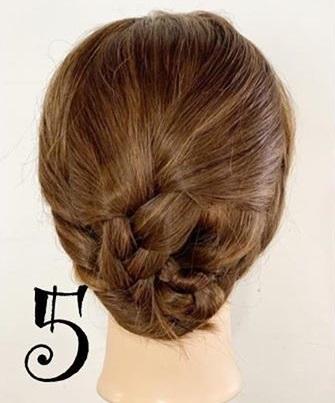 上品に決まる☆結婚式でも使えるまとめ髪アレンジ5
