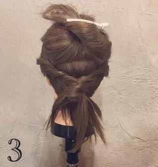 クール×華やか☆かっこよく決まるまとめ髪3