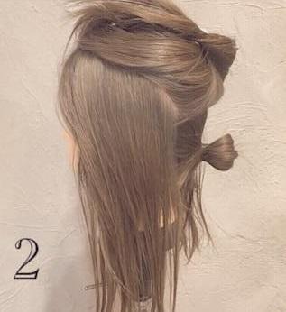 クール×華やか☆かっこよく決まるまとめ髪2