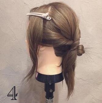 クール×華やか☆かっこよく決まるまとめ髪4