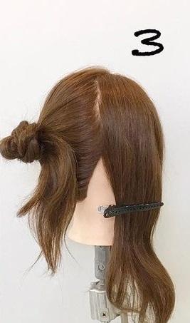 クリスマスデートにぴったり♡アップスタイルで大人っぽさを演出できるヘアアレンジ♪3