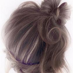 ガーリーで女の子感たっぷり♡髪の毛リボンのアップへアアレンジ♪