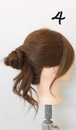 クリスマスデートにぴったり♡アップスタイルで大人っぽさを演出できるヘアアレンジ♪4