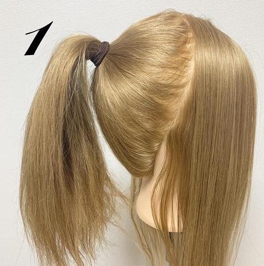 前髪が無くても可愛らしく華やかに☆くるりんぱを使ったポニーテールアレンジ♪1