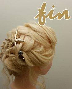 フィッシュボーンで作るオシャレまとめ髪アレンジ♪fin