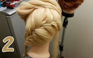 フィッシュボーンで作るオシャレまとめ髪アレンジ♪2