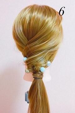 パーティーや結婚式に最適!ローポニテでつくるまとめ髪スタイル♪☆TOP