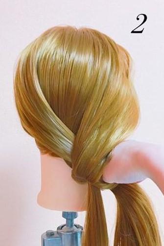 パーティーや結婚式に最適!ローポニテでつくるまとめ髪スタイル♪☆2
