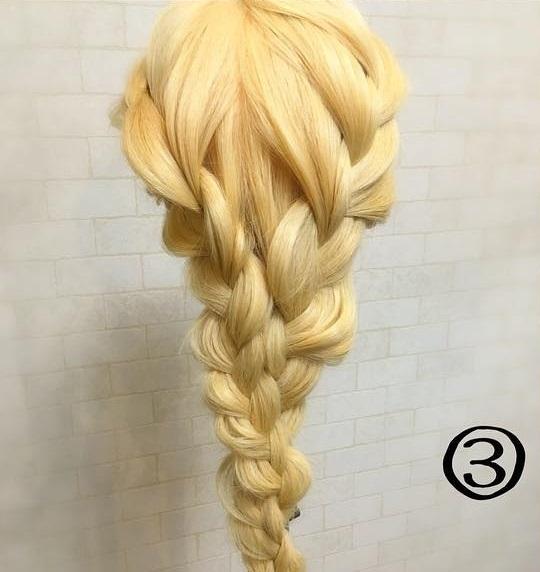 ひと手間で周囲と差をつける 簡単三つ編みアレンジ♡3