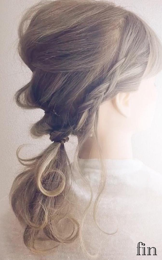 妖精のような雰囲気に☆ふんわり可愛く仕上げる♪ヘアアレンジfin