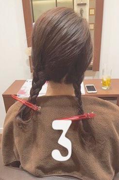 三つ編みができれば誰でもできる!結婚式にもおすすめなまとめ髪♡3