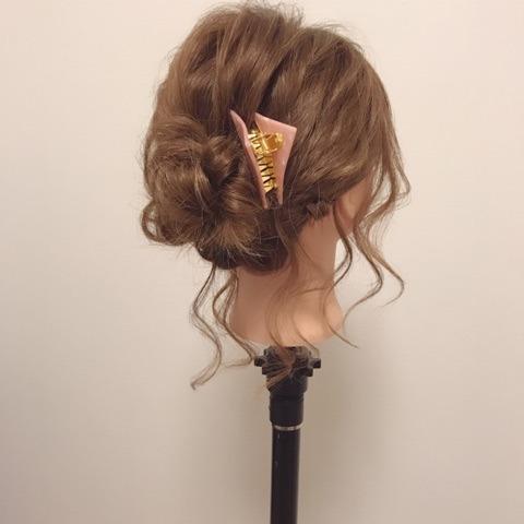 ふわっと可愛い♡おくれ毛を活かすアップヘアTOP