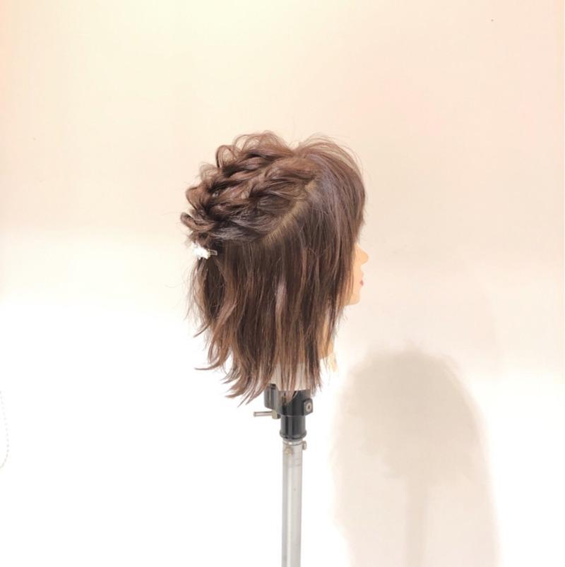 編み込み4連発!ショートでもとびっきり可愛いヘアアレンジ♡サイド