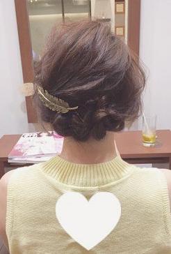 三つ編みができれば誰でもできる!結婚式にもおすすめなまとめ髪♡fin