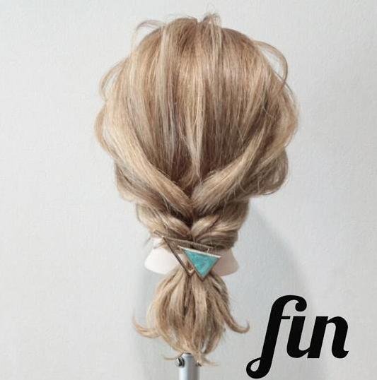 【5分でできる☆】ねじってほぐすだけ!簡単・時短で可愛い編み下ろし風アレンジfin