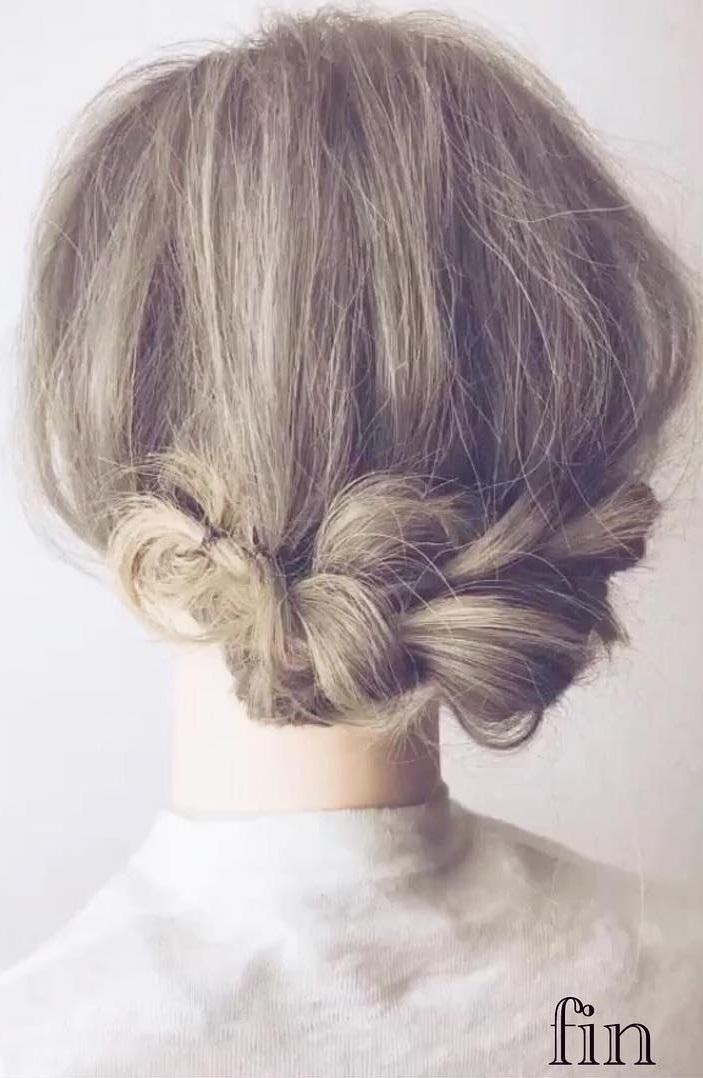 編み目が可愛い!後ろ姿がおしゃれなお出かけヘアアレンジtop
