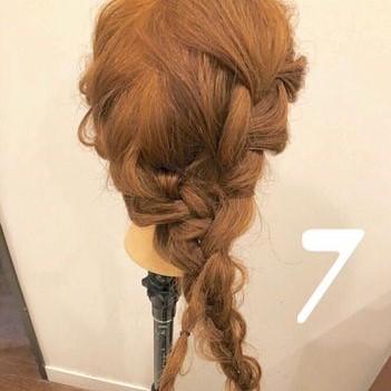 大人な女性のスポーツヘアはこれ!上品サイド編み下ろしアレンジ♡7