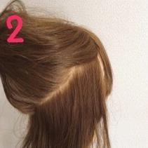 ロープ編みでどこから見ても可愛い♪いろんなシーンで使える簡単まとめ髪2