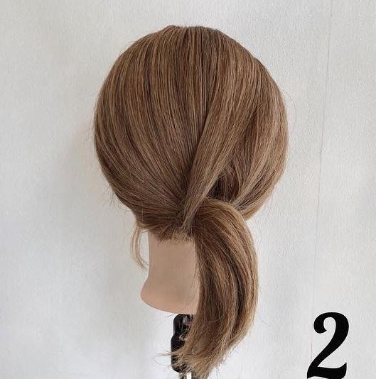 夏におすすめ☆浴衣にもぴったりな簡単まとめ髪2