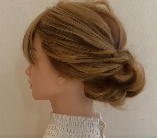 夏はまとめ髪一択!初心者さんでも出来る☆まとめ髪アレンジside