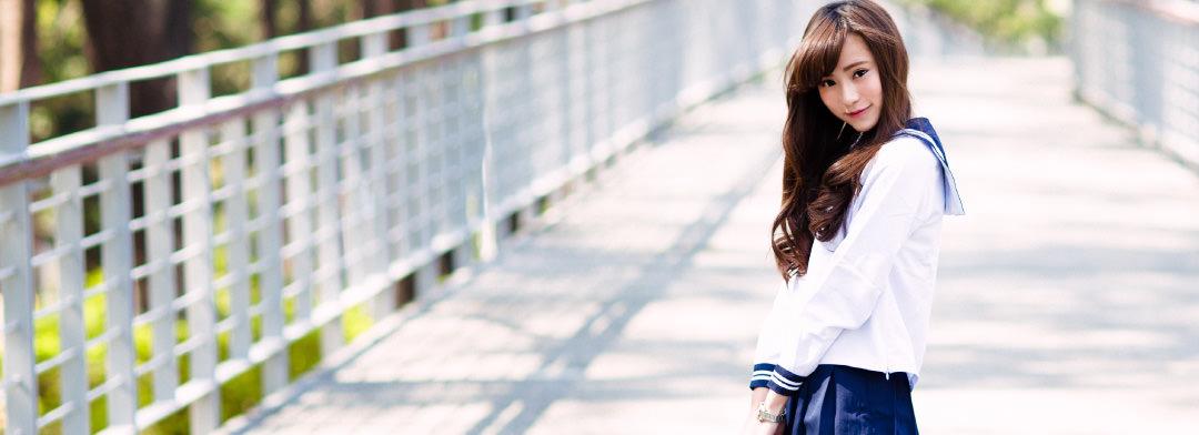 学校×ヘアスタイル