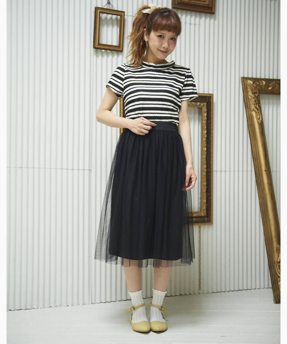 チュールスカートに似合うヘアスタイル