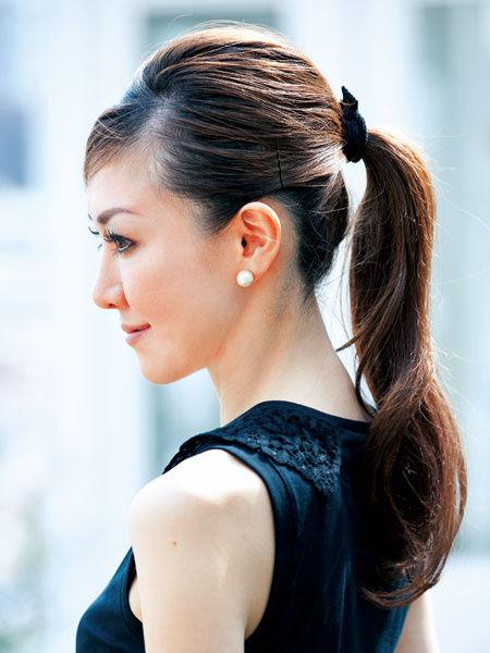 黒髪でもオシャレになれるヘアスタイル