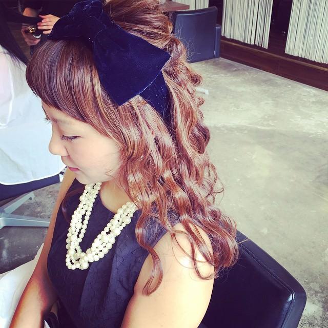 ターバンに似合うヘアスタイル