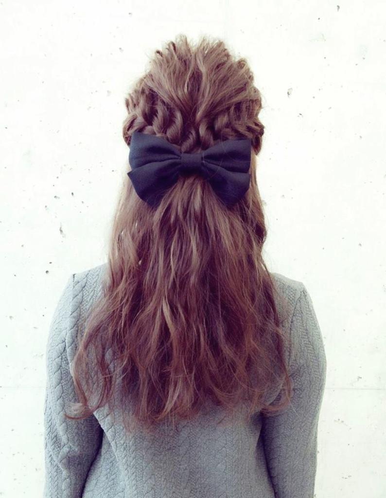ストレートアイロンでできるヘアスタイル