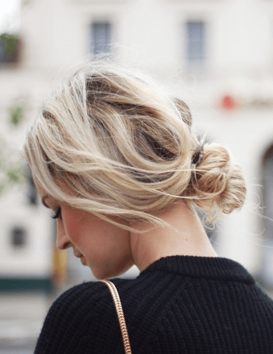 簡単ゆるふわヘアスタイル